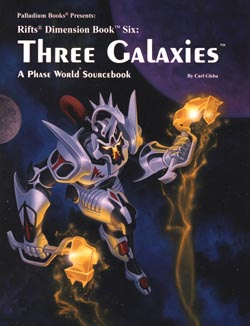 Rifts Phase World The Three Galaxies